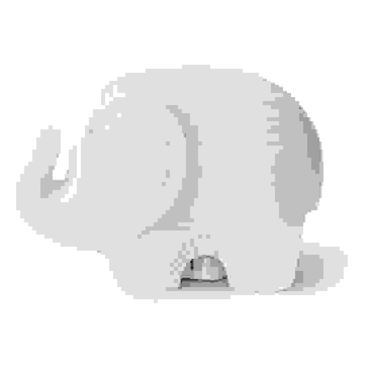 Jonathan Adler Elephant Nightlight Dust HouseholdHomewares Porcelain White