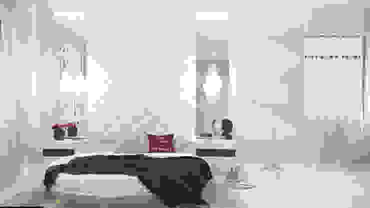 Projekty,  Sypialnia zaprojektowane przez Art Style Design, Minimalistyczny
