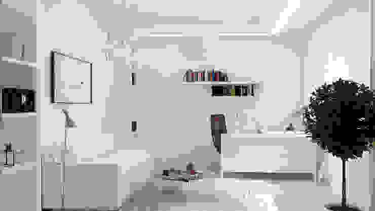 Жизнь за городом Рабочий кабинет в стиле минимализм от Art Style Design Минимализм