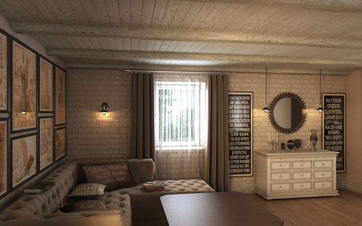 Salas de estilo colonial de Art Style Design Colonial