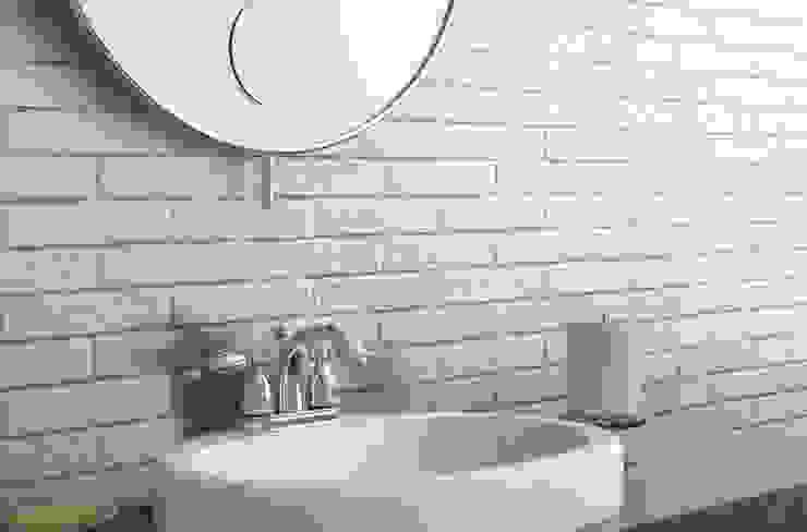 Effetto mattoncino, colore silver di Ceramica Rondine Classico Ceramica
