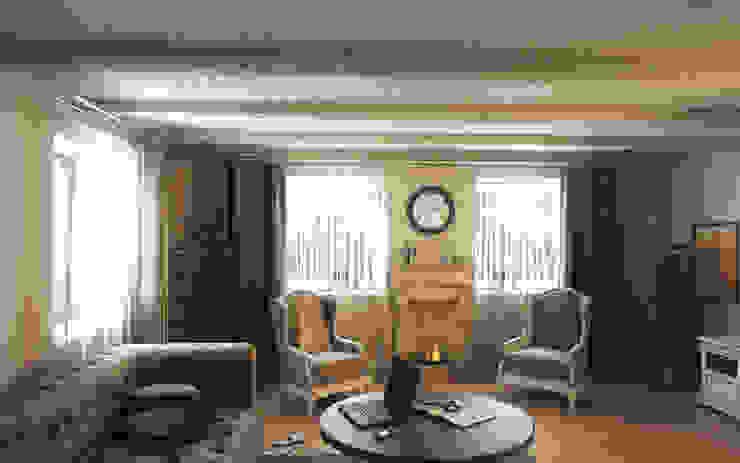 Koloniale Wohnzimmer von Art Style Design Kolonial