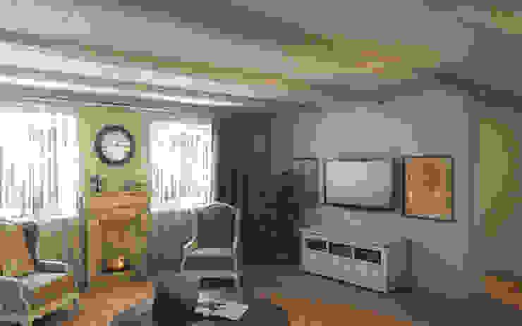Уют прованса Гостиная в колониальном стиле от Art Style Design Колониальный