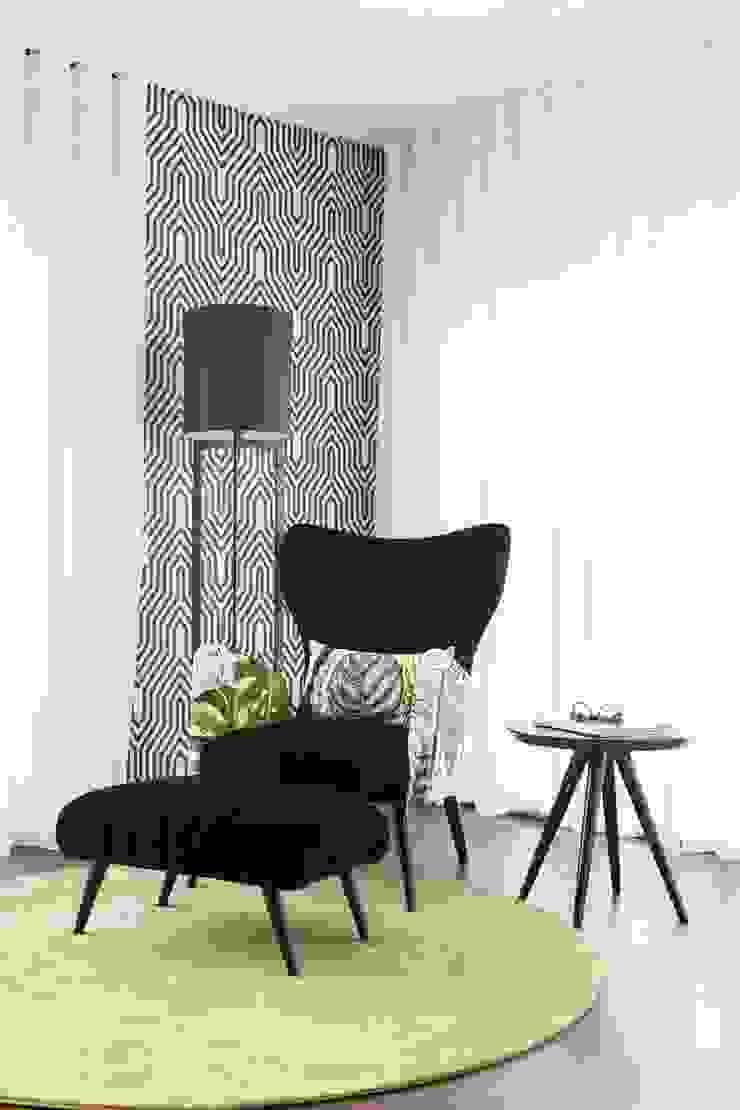 Canto de leitura Movelvivo Interiores SalasSalas y sillones Negro