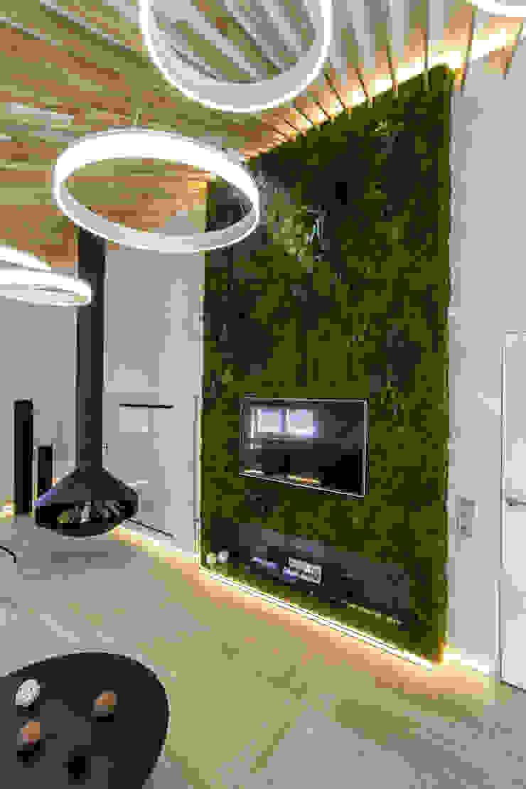 Михаил Новинский (MNdesign) Industrial style living room