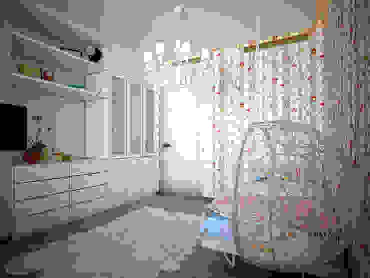 Квартира на Ленинградском шоссе Детская комнатa в стиле минимализм от Михаил Новинский (MNdesign) Минимализм