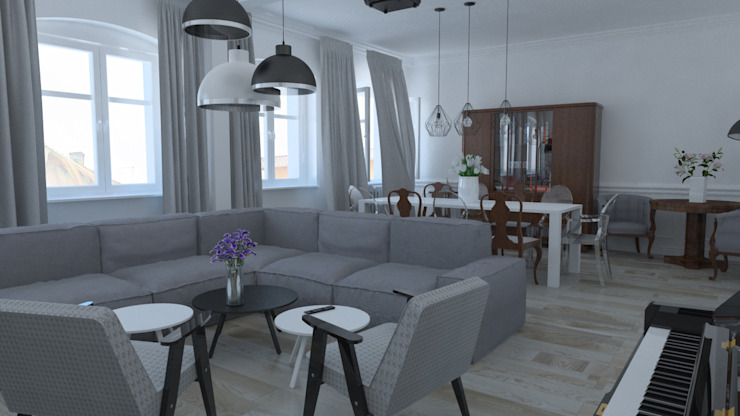 Klassische Wohnzimmer von homify Klassisch