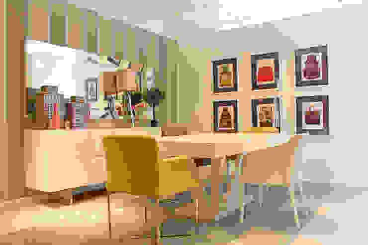 Sala de Jantar por Movelvivo Interiores Minimalista