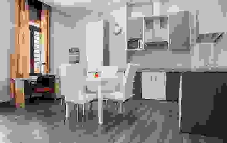 Mohedano Estudio de Arquitectura S.L.P. Столовая комната в стиле модерн