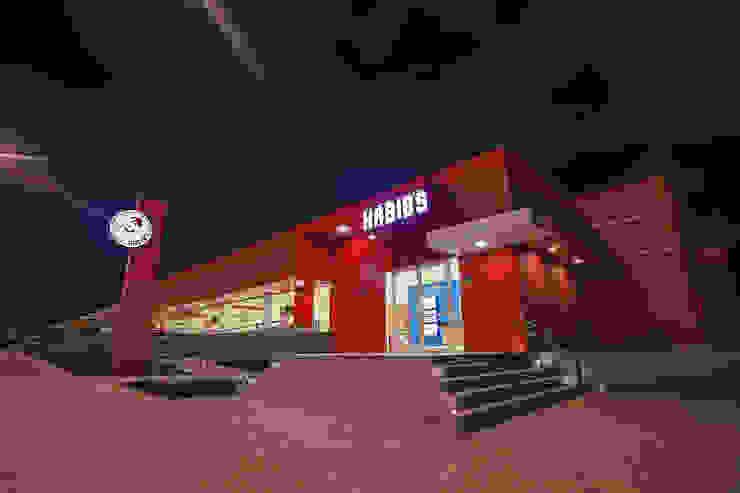 Habib's Bancários Casas modernas por Martins Lucena Arquitetos Moderno