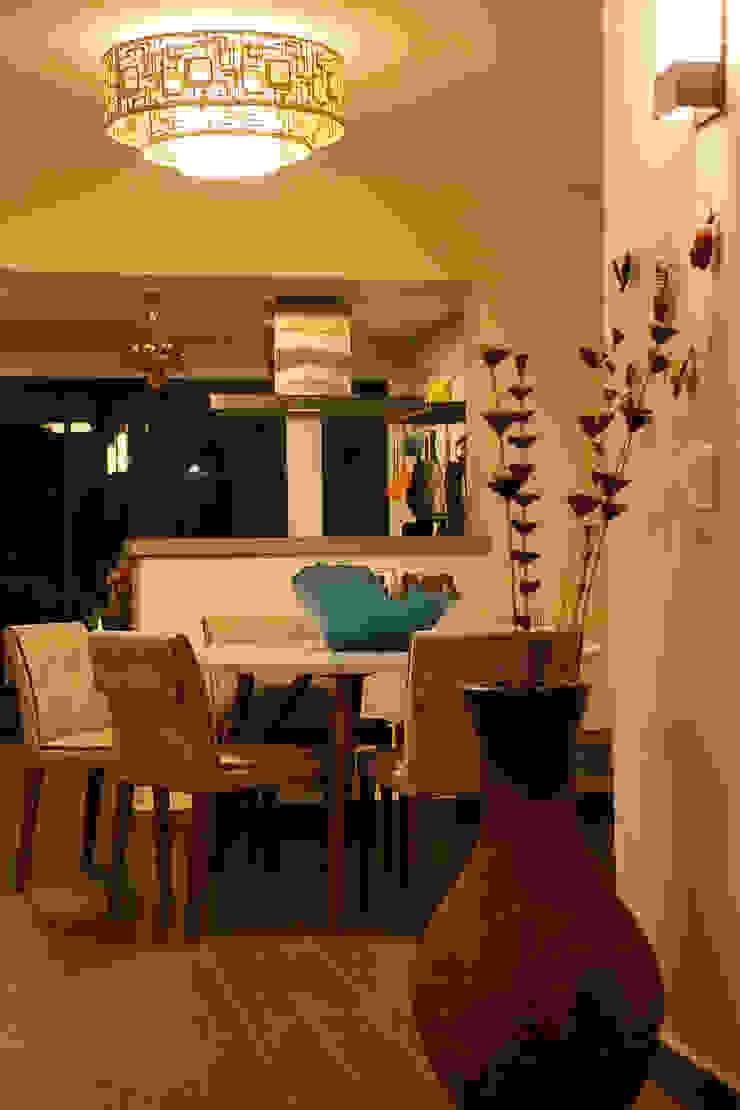 Casa aconchegante Salas de jantar rústicas por Barbara Fantelli arquitetura e interiores Rústico
