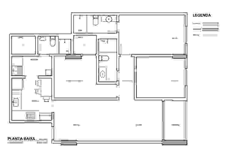 Apartamento MC por Martins Lucena Arquitetos Moderno