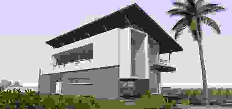 Casa ED Casas tropicais por Martins Lucena Arquitetos Tropical