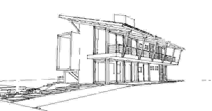Casa ED:  tropical por Martins Lucena Arquitetos,Tropical