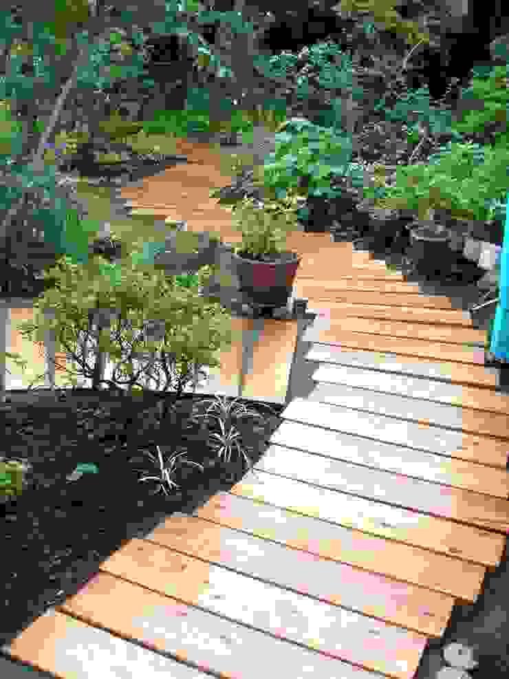 テラスのある庭 | Fujisawa オリジナルな 庭 の jardinier Kirikui オリジナル