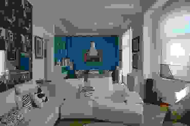 Livings de estilo moderno de Bozantı Mimarlık Moderno