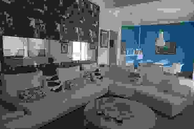 现代客厅設計點子、靈感 & 圖片 根據 Bozantı Mimarlık 現代風