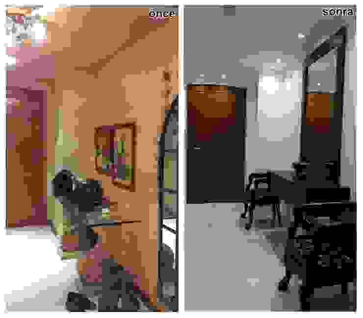 Etiler Maya Residences'ta Ev Modern Oturma Odası Bozantı Mimarlık Modern