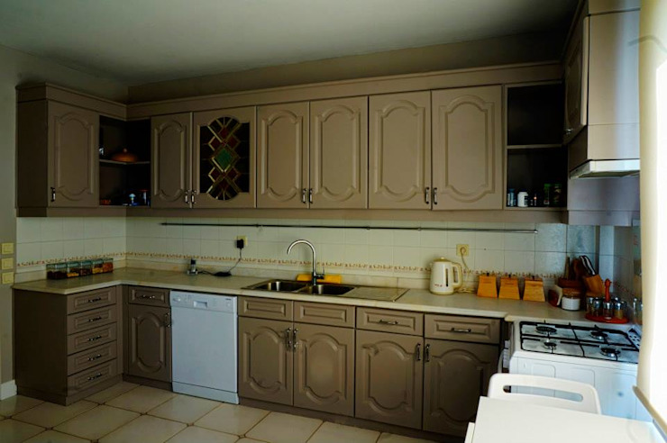 Erenköy'de Ev Modern Mutfak Bozantı Mimarlık Modern
