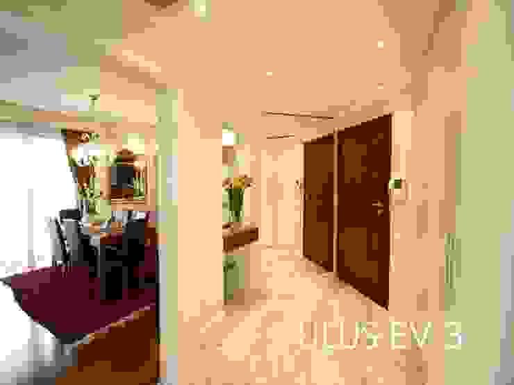 Modern corridor, hallway & stairs by Bozantı Mimarlık Modern