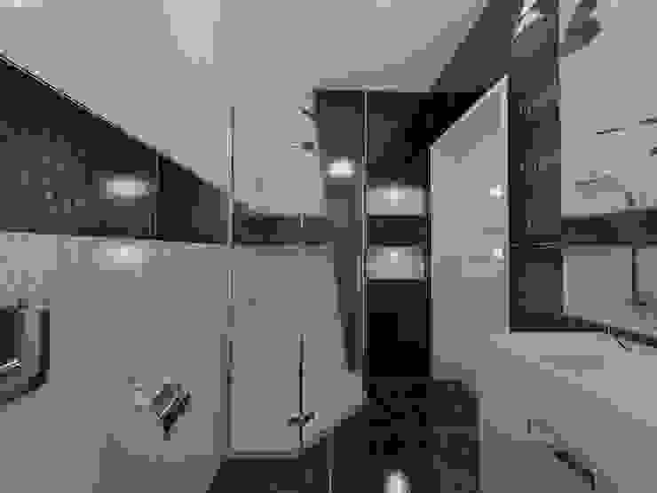 Wieloboki Nowoczesna łazienka od Katarzyna Wnęk Nowoczesny