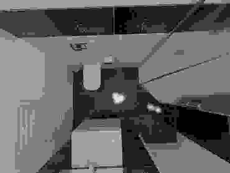 Widok z góry Nowoczesna łazienka od Katarzyna Wnęk Nowoczesny