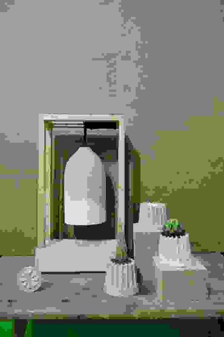Decoración de concreto:  de estilo industrial por Pitaya, Industrial
