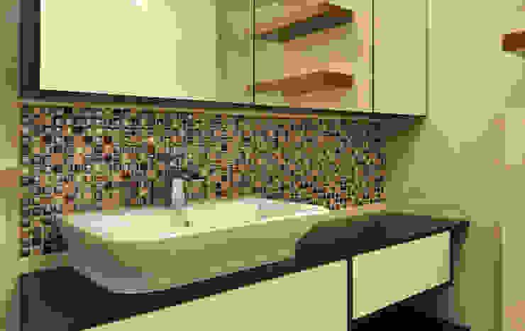 Modern style bathrooms by Katarzyna Wnęk Modern