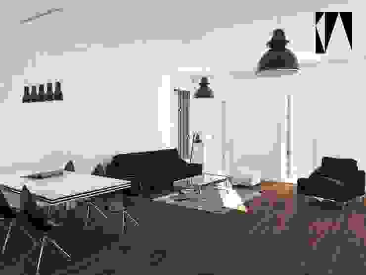Minimalistische Wohnzimmer von Katarzyna Wnęk Minimalistisch
