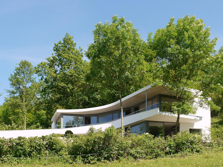 Casas modernas de K2 Architekten GbR Moderno