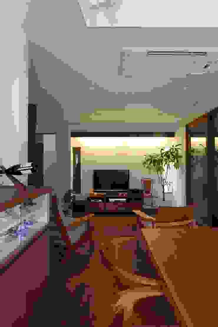 ピアノと暮らす家 北欧デザインの ダイニング の アトリエグローカル一級建築士事務所 北欧