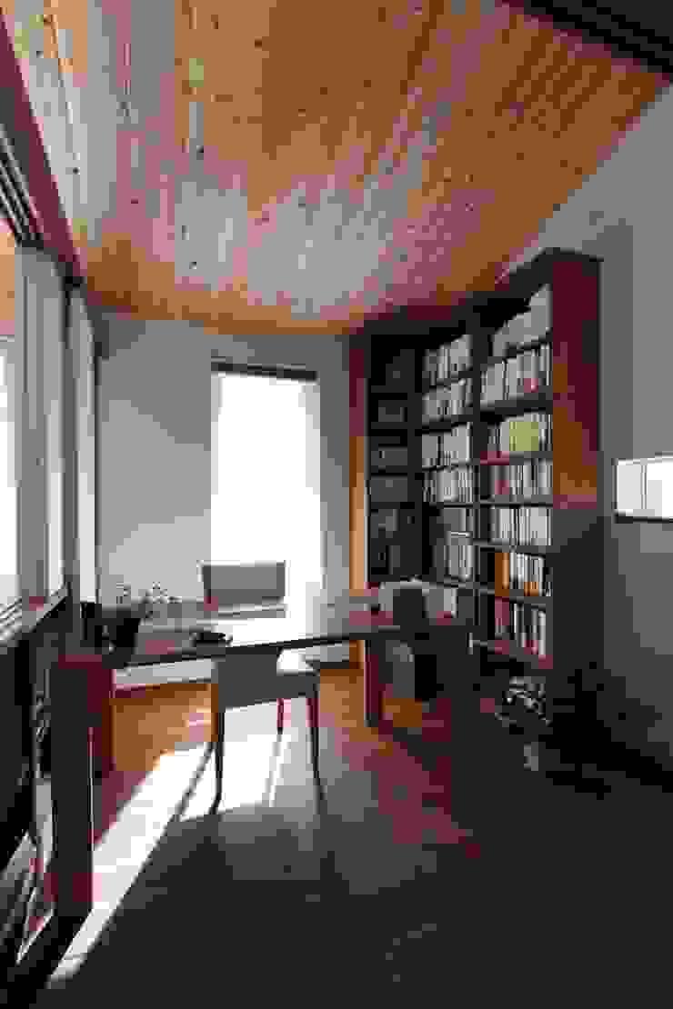 ピアノと暮らす家 北欧デザインの 書斎 の アトリエグローカル一級建築士事務所 北欧