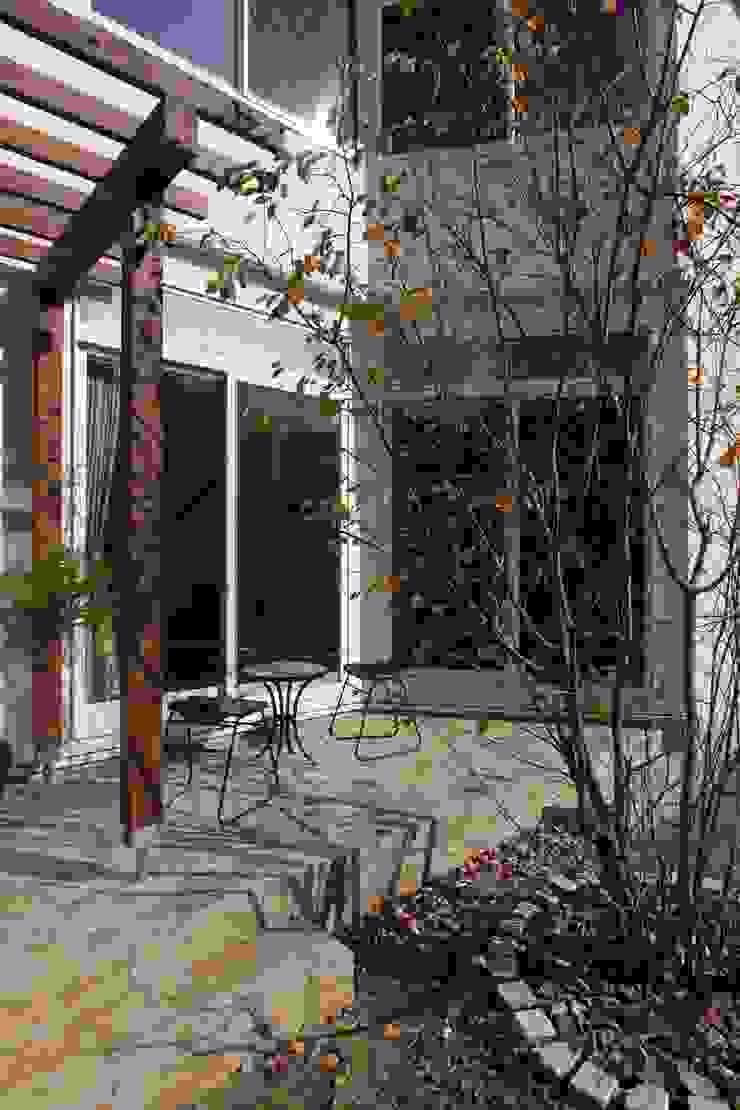 ギャラリーのある家 北欧風 庭 の アトリエグローカル一級建築士事務所 北欧