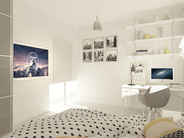 OK Interior Design Camera da letto moderna