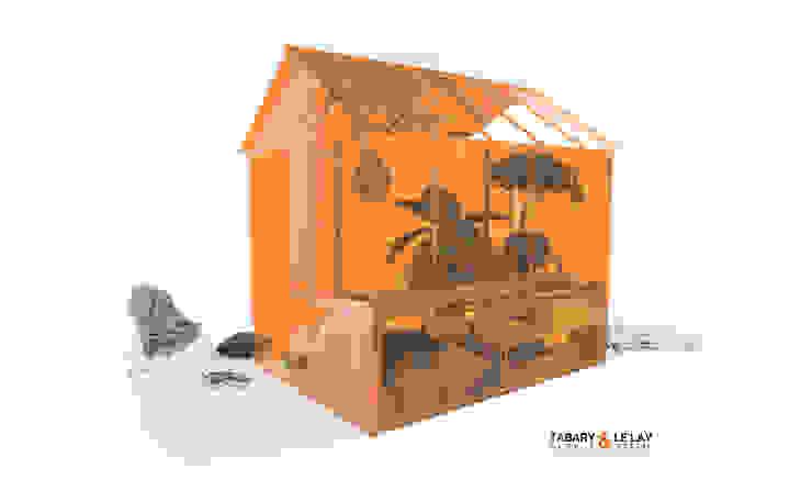 un jardin d'hiver... ou ce que vous voulez ! quand vous voulez Jardin d'hiver moderne par Frédéric TABARY Moderne Plastique