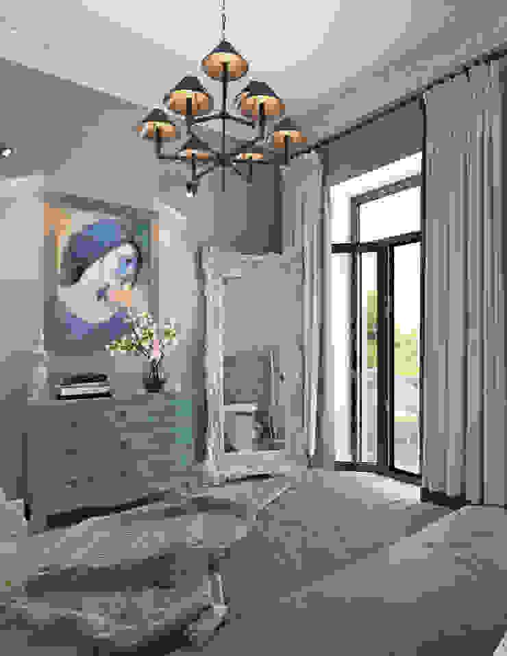 Camera da letto in stile scandinavo di Котова Ольга Scandinavo