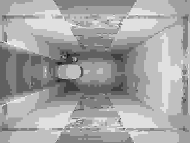 Дизайн проект квартиры 98 м2 Ванная комната в стиле модерн от Artstyle Модерн