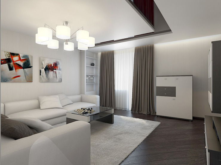 Modern Living Room by Artstyle Modern