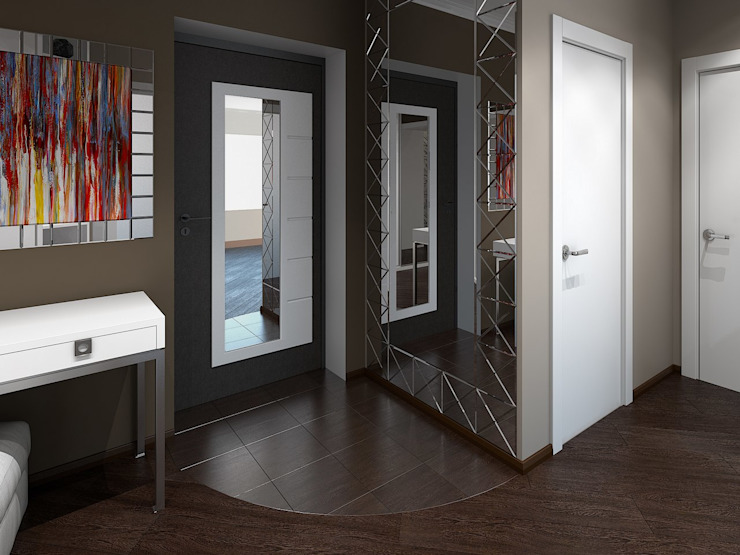 Modern Corridor, Hallway and Staircase by Artstyle Modern