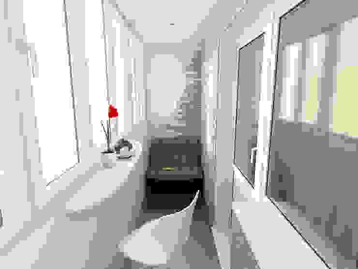 Modern Terrace by Artstyle Modern