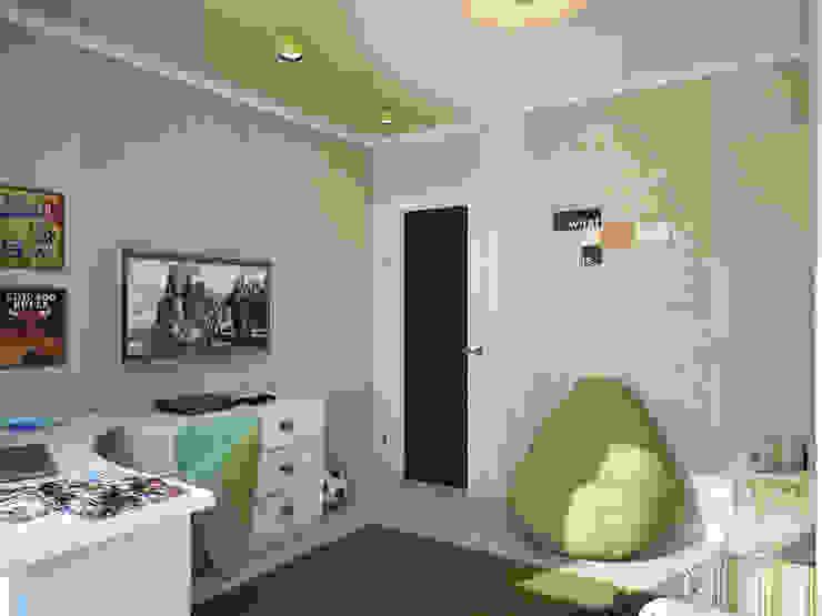 Дизайн проект квартиры 75,2 Детская комнатa в классическом стиле от Artstyle Классический