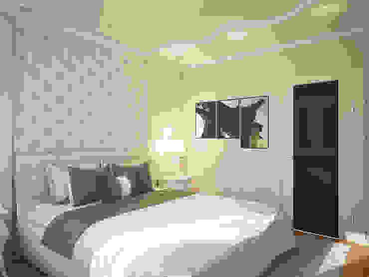 Дизайн проект квартиры 75,2 Спальня в классическом стиле от Artstyle Классический