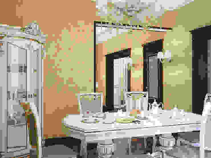 Дизайн-проект гостиной Столовая комната в классическом стиле от Artstyle Классический