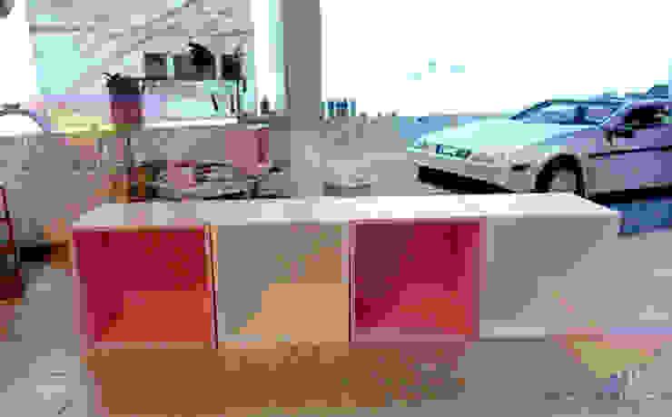 Cubos Dormitorios infantiles modernos de camas y literas infantiles kids world Moderno Derivados de madera Transparente