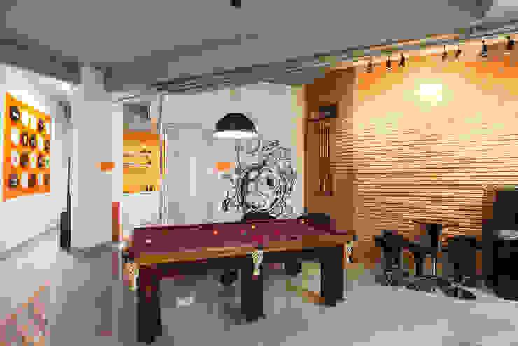 Área de lazer Lojas & Imóveis comerciais modernos por Novità - Reformas e Soluções em Ambientes Moderno