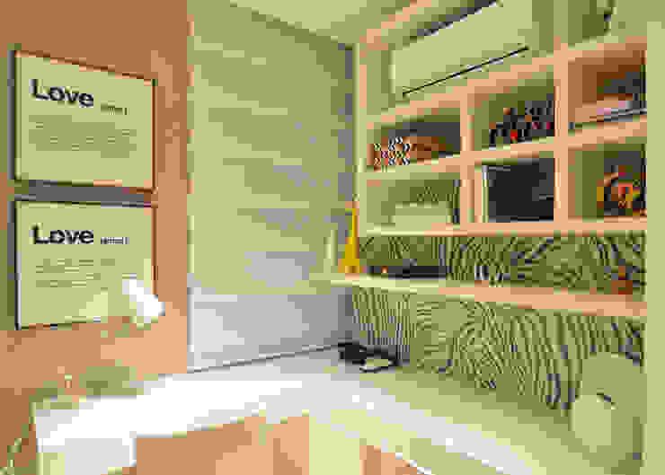 Apartamento Itacorubi Gran Classic 1 Escritórios modernos por ANNA MAYA ARQUITETURA E ARTE Moderno