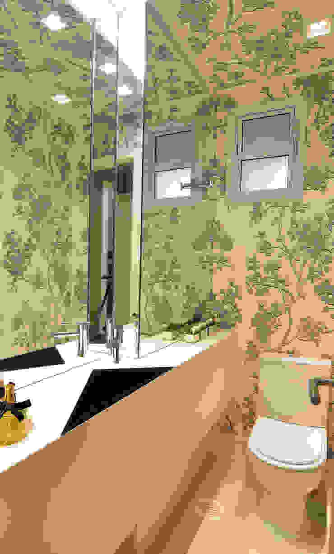 Apartamento Itacorubi Gran Classic 1 Banheiros modernos por ANNA MAYA ARQUITETURA E ARTE Moderno