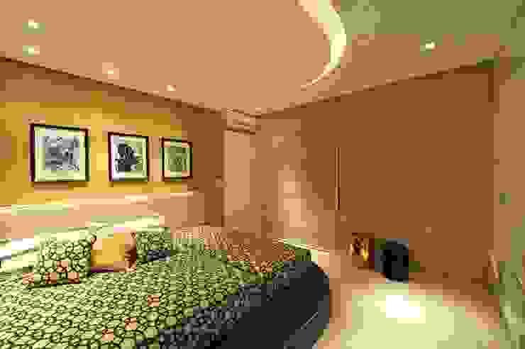 ห้องนอน โดย ANNA MAYA ARQUITETURA E ARTE, โมเดิร์น กระดาษ