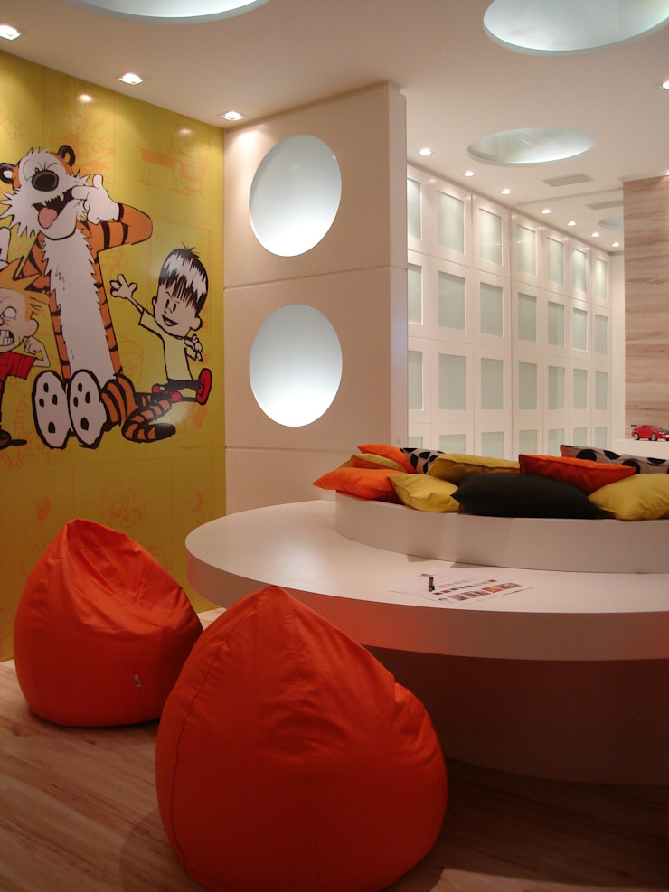 Modern nursery/kids room by ANNA MAYA ARQUITETURA E ARTE Modern Paper
