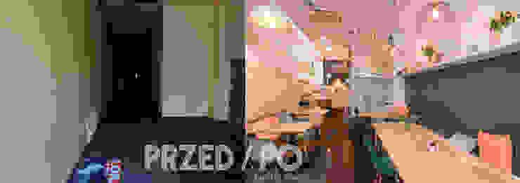 Pizzeria zaaranżowana przy minimalnym budżecie od Zig Zag Industrialny